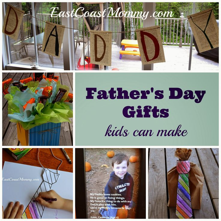 Cheap 33 Last Minute Quick Cheap Diy Christmas Gifts: 5 Father's Day Gifts {kids Can Make}