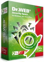 Dr.Web Security Space 9.0 Free 2 Months Serial Key