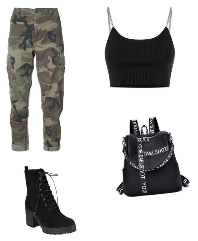 """""""Boyish sexy"""" by biudinca on Polyvore featuring RE/DONE and Alexander Wang"""