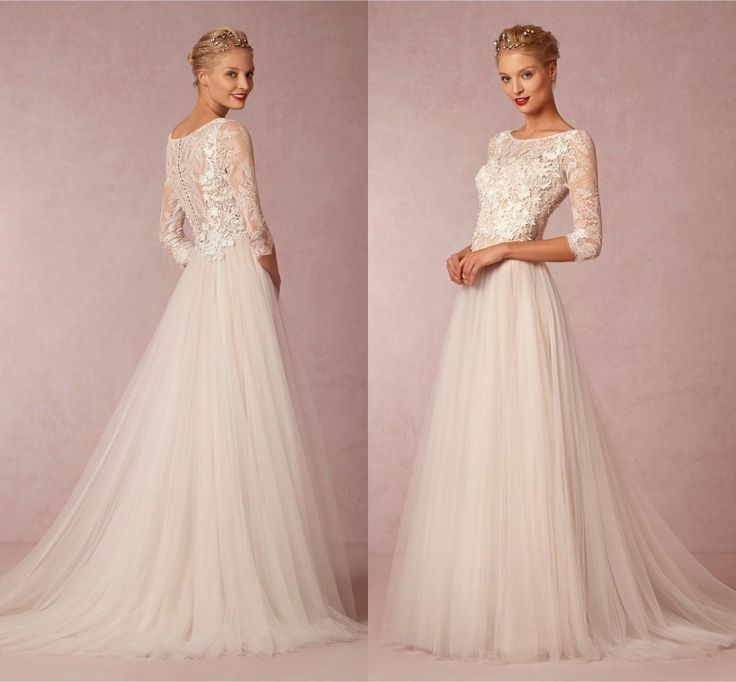 17 best ideas about high street fashion on pinterest for Elegant modest wedding dresses