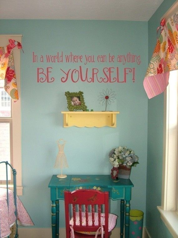 Love this for my little girls room!