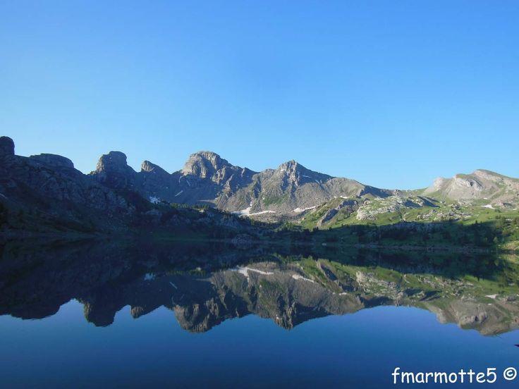 Le Lac d'Allos, Mercantour.
