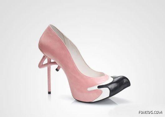Crazy High Heel Designs | Miao, Blow, Dog, Duck, Banana