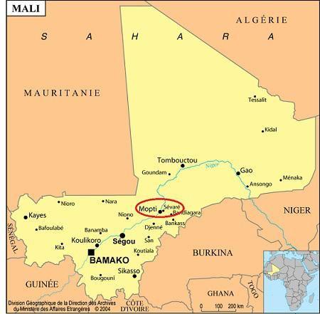 Sevare, Mali
