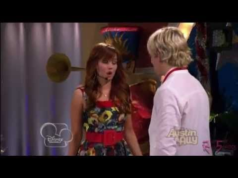 Ross Lynch & Debby Ryan - FACE TO FACE - Music from Austin & Jessie & Ally All Star New Year - YouTube