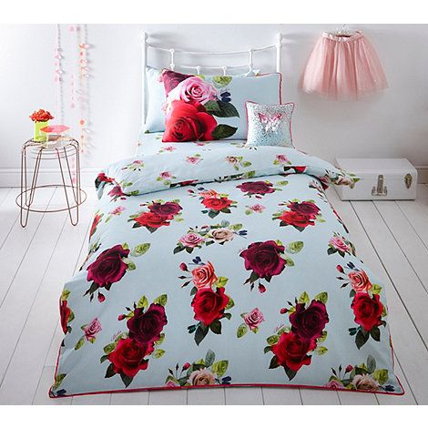 Baker by Ted Baker Multicoloured 'Tumbling Rose' single size bedding set | Debenhams