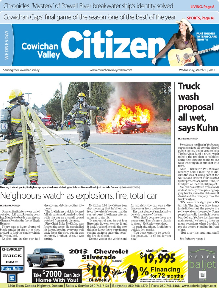 Citizen Front Page March 13, 2013