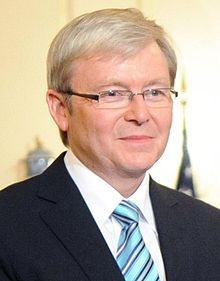 Kevin Rudd - 26th Prime Minister of Australia Serving from 2007 - 2010