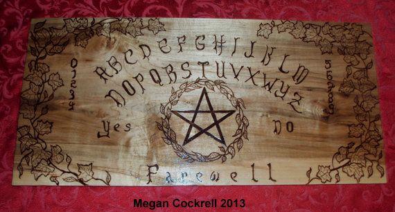 Wood Spirit Board/Ouija Board Handmade on Solid Maple Wood ...