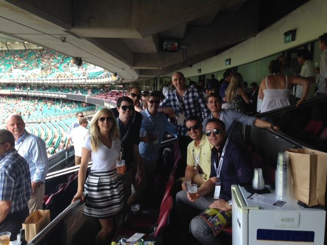 Robert Half Sydney had a great day out at the #cricket on Sunday! Hosted in a corporate box at the SCG, the consultants watched Australia beat England (again!) in the One Day International. #odi