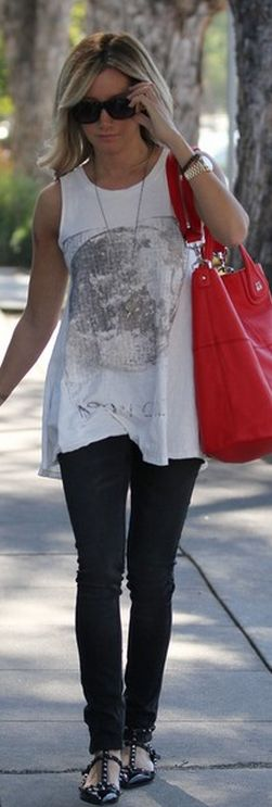Shoes- Valentino, Bag- Givenchy, Shirt- We The Free Moon, Watch- Rolex