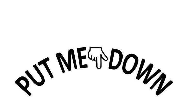 Aliexpress Com Buy 5pcs Lot Put Me Down Bathroom Toilet