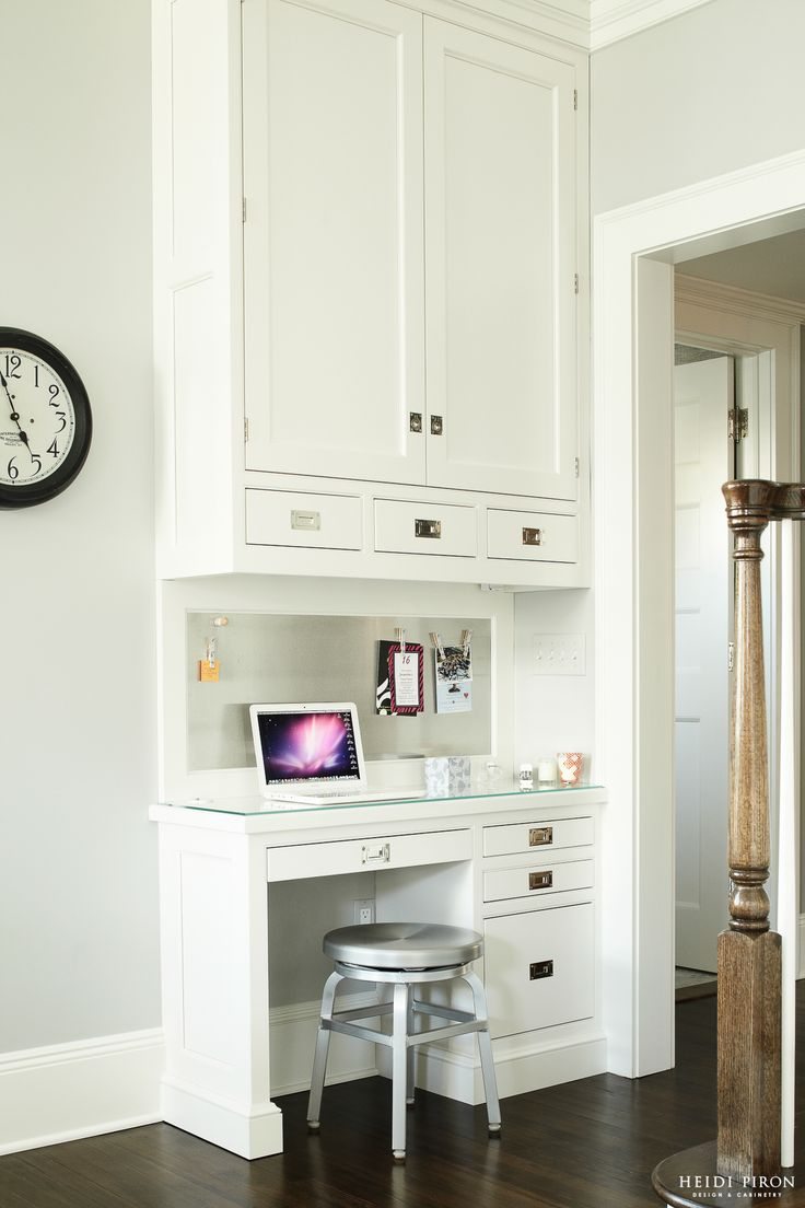 Heidi Piron Design And Cabinetry Work Space 1 Built Ins Pinterest Small Kitchens