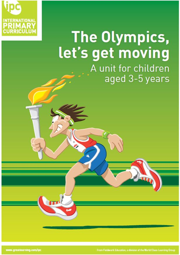 The big idea In this unit the children will be finding out about the Olympic Games. They will have the opportunity to play with water and ice. Play in the 'restaurant' and do some healthy cooking. Paint and draw pictures of themselves doing sports