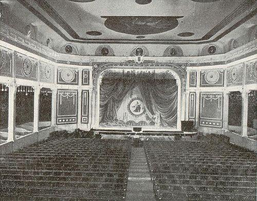 1911. Antes de la Gran Vía. Interior del Teatro Gran Vía.   Flickr: Intercambio de fotos