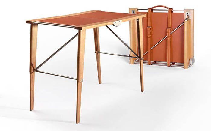 Travel Desk, collection Objets nomades, Christian Liaigre pour Louis Vuitton