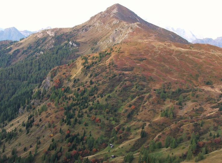 Monte Pore seen from Passo Giau (Dolomites, Italy)