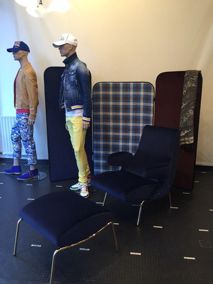 Dolphine Chair for Arflex
