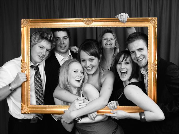Prom Photography Ideas - Picture Frame
