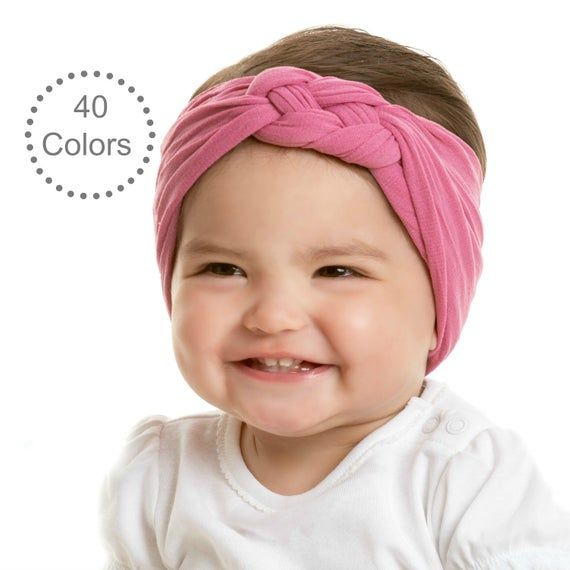 Leather Knot Headband  Knotted Headband  Leather Hair Bows  Baby Hair Bows  Gold Hair Bow  Gold Headband  Baby Girl HeadbandSage Knot
