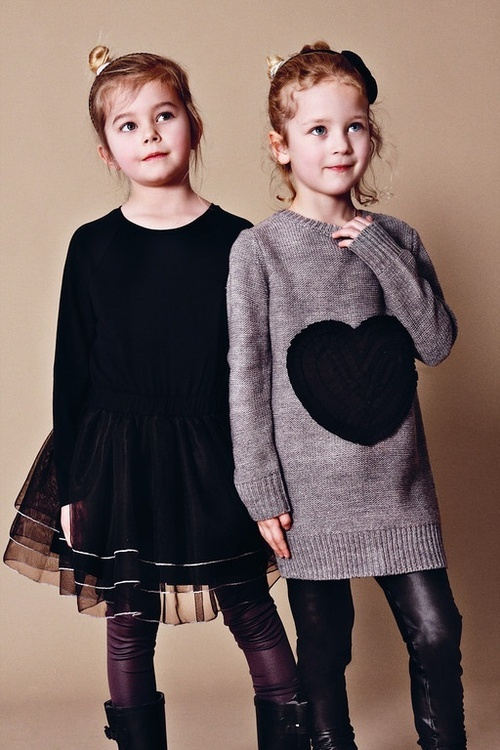 kids fashion, dress, skirt, sweater, girls fashion