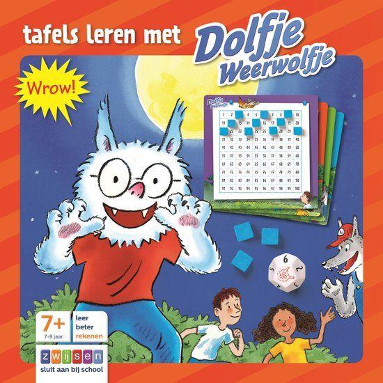 Tafels leren met Dolfje Weerwolfje