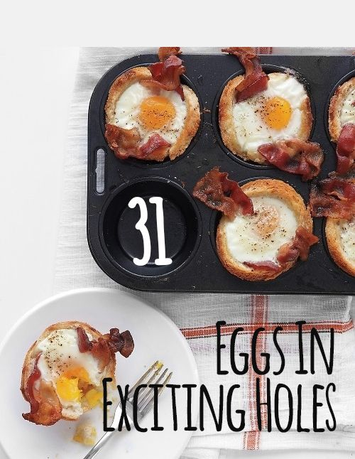 31 Eggs In Exciting Holes - - - not all are gfcf, but many are or could be modified