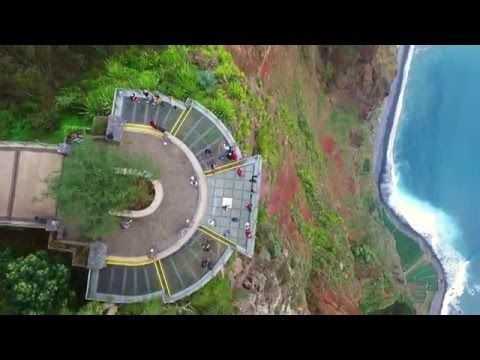 Cabo Girao (Europe's Highest Cliff) Skywalk, Madeira, Portugal filmed with drone | Funchal Notícias