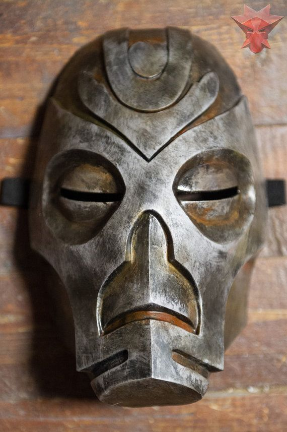 Skyrim Inspired Morokei Konahrik Dragon Priest Mask Cosplay wearable Halloween costume The Elder Scrolls V Fan Art