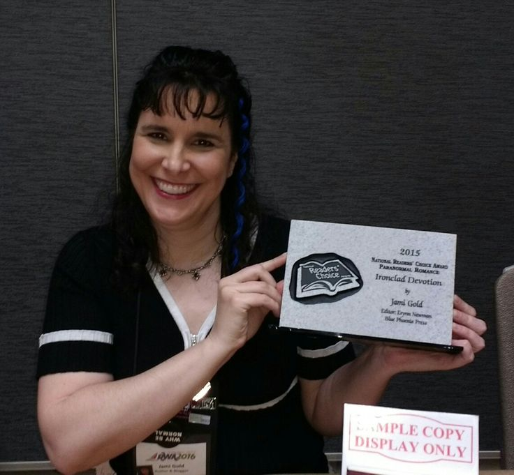 Ironclad Devotion won the National Readers Choice Award for Paranormal Romance! http://jamigold.com/ironclad-devotion/
