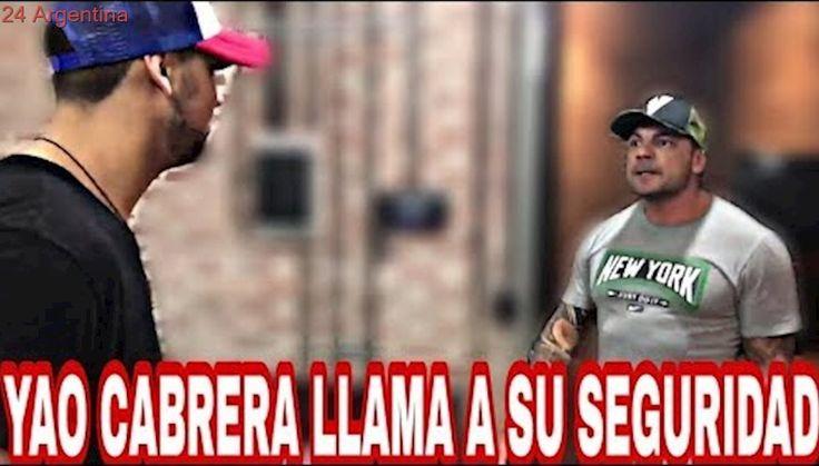 YAO CABRERA LLAMA AL SEGURIDAD/LA VENGANZA