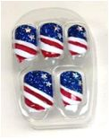 All American Nails w/ KISS USA and Broadway Nails | The Nail Polish Exchange #4thofjuly #nailart #patriotic #nails