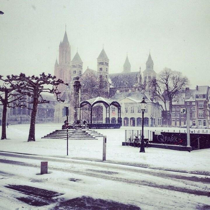 Winter in march mestreech