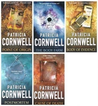 Patricia Cornwell's novels featuring Dr. Kay Scarpetta, who solves crimes using the recent forensic technology in investigations...