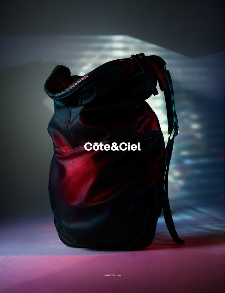 Côte&Ciel Spring Summer 2015 Campaign featuring the Nile Alias Leather.  Art Direction by Nicolás Santos. Photography by Benjamin Lennox.  www.coteetciel.com
