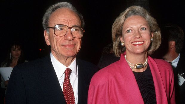 Rupert Merdoc and 1st wife Anna, she got 1,7 Billion PLUS $100 million in cash