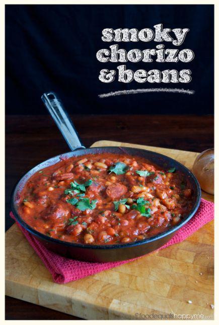 Smoky Chorizo & Beans