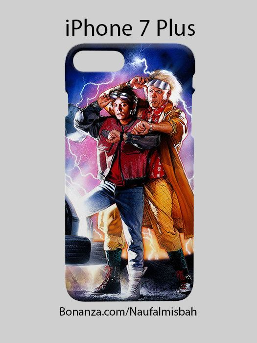 Back To The Future iPhone 7 PLUS Case Cover Wrap Around