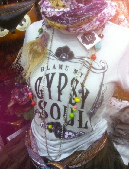 XL Gypsy Soul TShirt for the Free Spirit Bohemian. A by bohocircus, $27.95