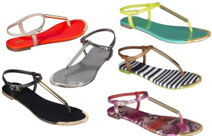 Spring into flip flops: Women's Mossimo Falk Thong Sandal #TargetStyle