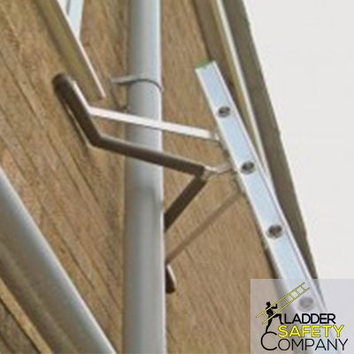 Ladder Standoff incorporates a large 'V' in its design to span conduit and piping. The standoff also allows your ladder to rest on the corner of building or on a chimney. With the Ladder Standoff installed, the top of the ladder is kept (1) foot off of the wall making it easier to work under the eaves of a building. For more details visit our website. http://laddersafetycompany.com/    #LadderSafetyCompany #LadderStandoff #roofumbrella #laddersafety #Safety