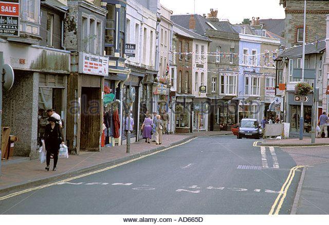 Ventnor Isle of Wight  - Stock Image