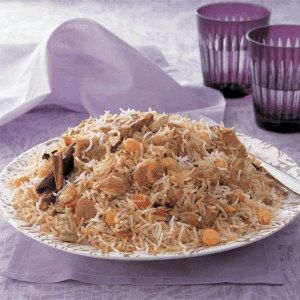 Saudi Rice with Meat and Chickpeas - How to Make Saudi Rice with Meat and Chickpeas
