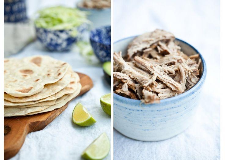 Kitchenette — Domácí pšeničná tortilla
