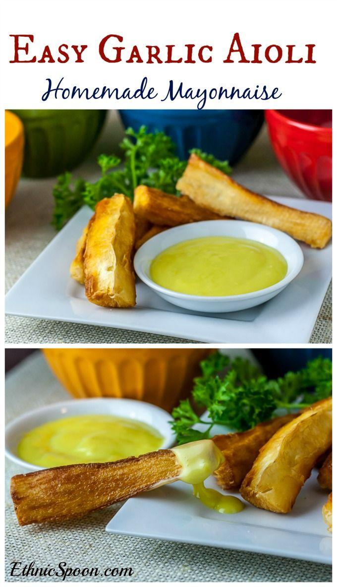 Easy Aioli Recipe | Bon Appetit