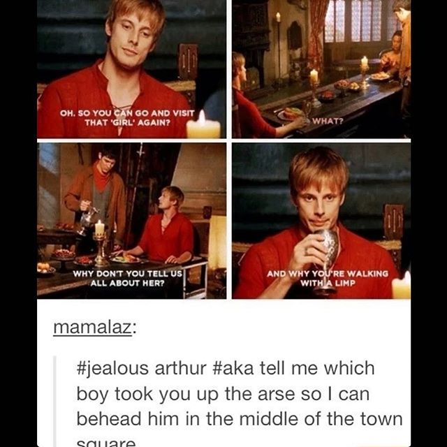 Merlin AU where Arthur is chat noir and Merlin is ladybug I need it now is there…