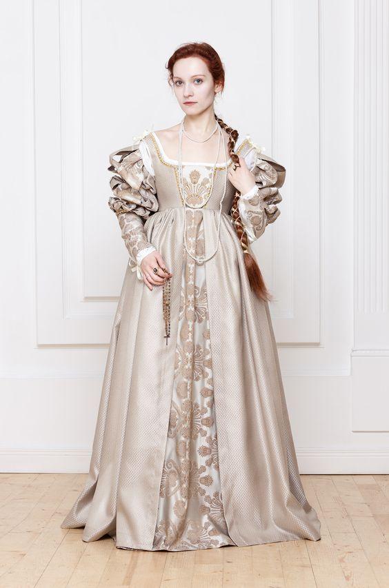 Italy 14th Century Wedding Dress