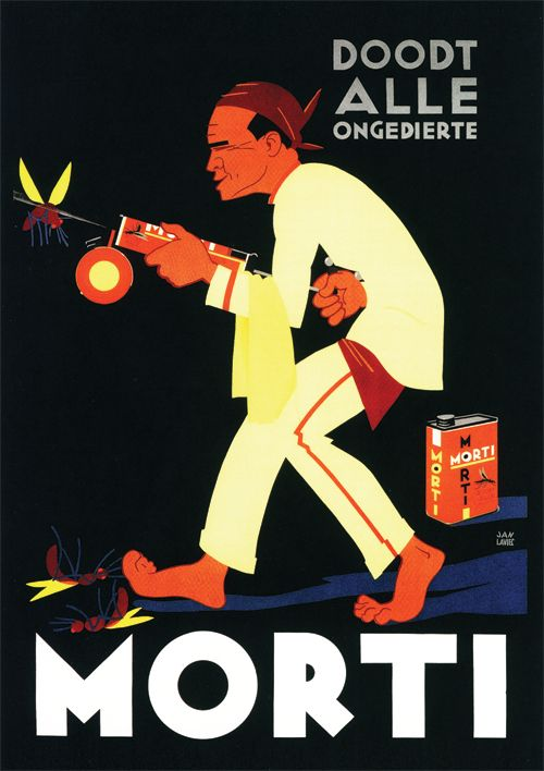 Morti  Advertising in the Dutch East-Indies (Nederlands-Indië). A reminder of the Tempo Doeloe.