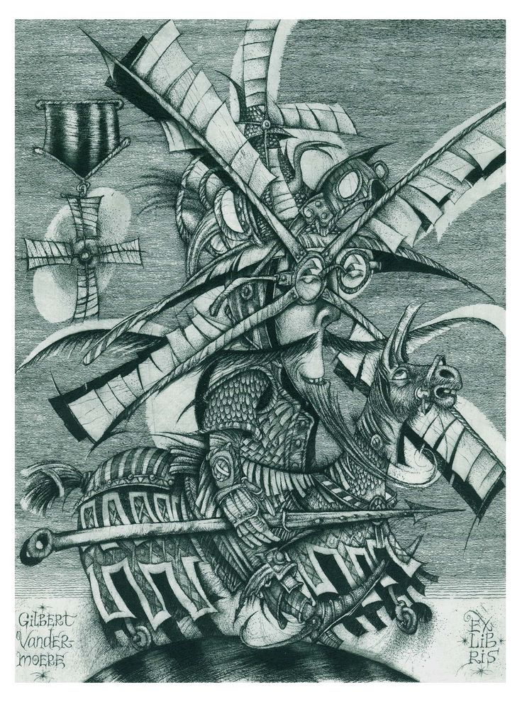 "111. Gilbert Vandermoere ""The Hunter"" C3\C5\C7 13,5 X 18,0 www.hrapov.com"