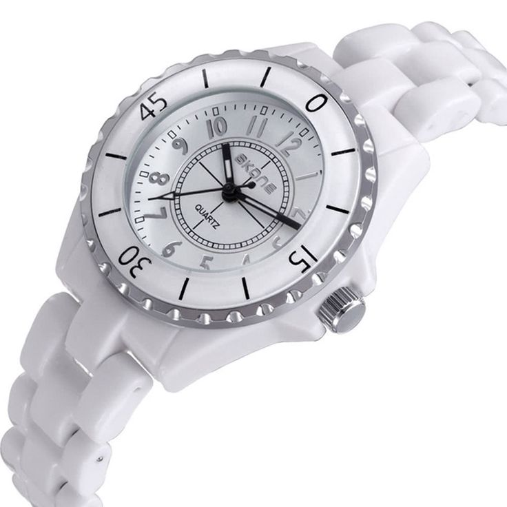 SKONE Gorgeous Elegant Analog Quartz Watch Water Resistant Sales Online white - Tomtop.com